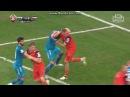 Zenit Ural Dzyba Emelyanov fight. Зенит Урал драка Дзюба Емельянов Премьер Лига РФПЛ 22 02 2017