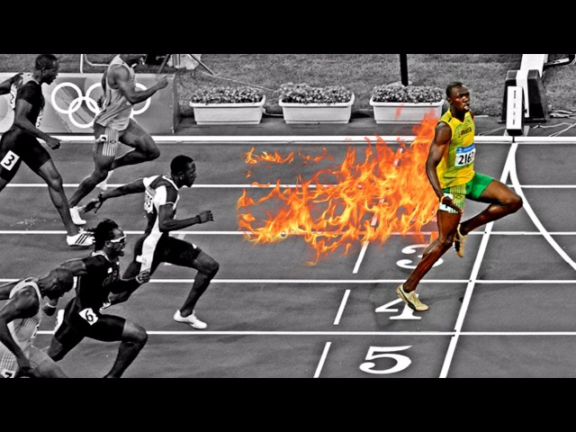 Evolution of Usain Bolt's Races | 2004 ➔ 2017