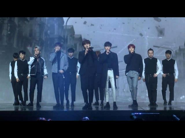 B1A4 'A lie'(거짓말이야) Stage Showcase (비원에이포, 진영, 신우, 산들, 바로, 공찬) [통통영상]