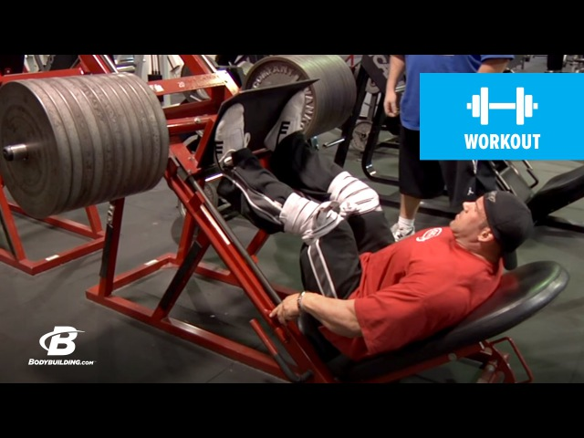 Jay Cutler's Mr. Olympia Leg Workout | 2010 Road to the Olympia