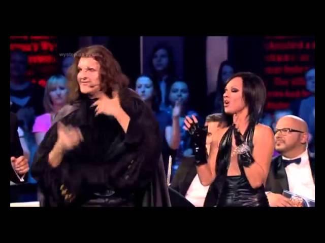 Kasia Cerekwicka Mateusz Jakubiec - Moves like Jagger (Twoja twarz brzmi znajomo) » Freewka.com - Смотреть онлайн в хорощем качестве