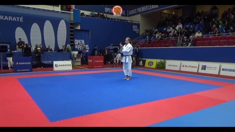 Open de Рaris 2017 Джесси Энкамп Швеция Федерико Зангари Италия