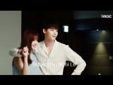 Lee Jong Suk 한효주  Han Hyo Joo 이종석 - W -Two World 더블유 Behind The Scene