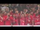 Награждение Бенфики - обладателя Кубка Португалии 2016/17