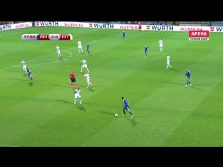Босния 5:0 Эстония | Чемпионат Мира 2018 | Отборочный турнир | Обзор матча