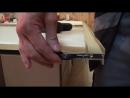 7 Шкаф купе своими руками Установка нижних роликов раздвижных дверей