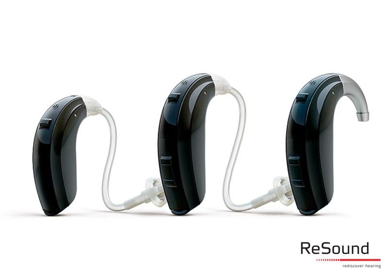 Заушные цифровые аппараты ReSound Verso™ линейки BTE созданы для самых требовательных пользователей