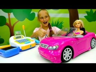 Видео для девочек: #Барби покупает АВТОМОБИЛЬ!  Мультик Барби с #ЛучшаяподружкаВаря