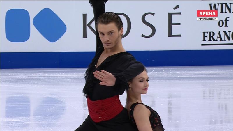 World Championships 2017. Ice Dance - FD. Kavita LORENZ / Joti POLIZOAKIS
