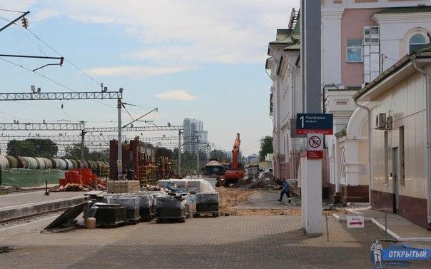 Подземный переход на хабаровском вокзале откроют в День железнодорожника