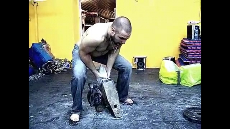 Giant anvil 2 hands lift 98 kg add. 20kg (total_ 118 kg _ 260 lbs)