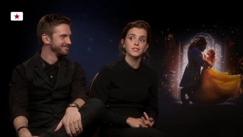Emma Watson Dan Stevens_ How hairy are you