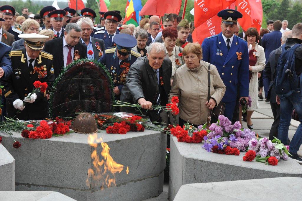 На ТАГМЕТе прошли мероприятия к 72-й годовщине Великой Победы