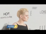 Access Hollywood Kristen Stewart, Lupita Nyongo, Felicty Jones - Elle WIH (2410)
