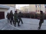 Курсанты из Анголы стали первыми на конкурсе строевой песни в Санкт-Петербурге...