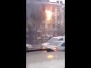 Стал случайным свидетелем пожара.
