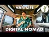 Film Producer Living &amp Working in a Camper Van - VanLife Traveler