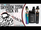 Skyhook 220W RDTA Box &amp Stick V8 Kit by Smok