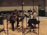 Cavatina Duo performs Ajde slusaj, slusaj kales bre Andjo by Clarice Assad