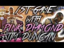 EXPOSED?! FIRST GAME WITH PINK DIAMOND TIM DUNCAN ?! ALGO AT ITS FINEST !! NBA 2K17 MYTEAM GAMEPLAY
