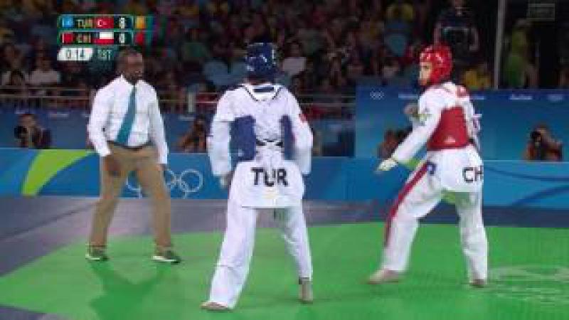 12.Gün   Servet Tazegül Çeyrek Finalde   Erkekler Taekwondo 68KG   Rio 2016 Olimpiyat Oyunları