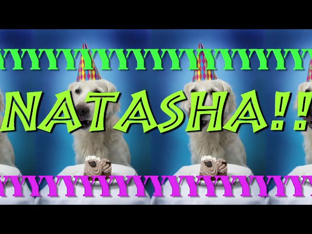 HAPPY BIRTHDAY NATASHA EPIC Happy Birthday Song