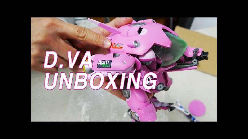 Overwatch D.VA Figure Unboxing - 오버워치 디바 피규어 개봉기