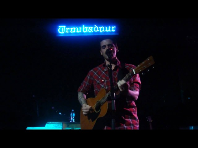 For You to Notice by Dashboard Confessional - Live acoustic at the Troubadour in LA, 11/30/2009
