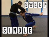 A good BJJ takedown for people who didn't wrestle | The sweep single