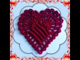 How to Crochet a Heart Pattern #2
