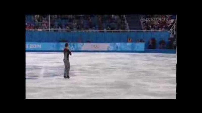 Хавьер Фернандес FERNANDEZ Javier Фигурное катание Мужчины кп Олимпиада Сочи 2014