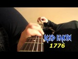Iced Earth = 1776 Guitar Cover