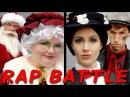MRS CLAUS vs MARY POPPINS Princess Rap Battle Whitney Avalon Alyssa Preston Jim O'Heir *explicit*