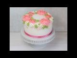 Hochzeitstorte selber machen / Blumenkranz Torte Teil 2 Fondant Füllblumen aus der Silikonmould