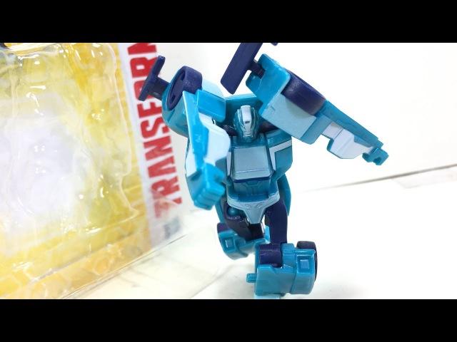 Transformers RID Legion Blurr Chefatron Toy Review