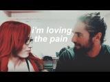 seth and sasha  I'm loving the pain