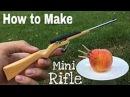Как сделать мини охотничье ружье, которое стреляет.