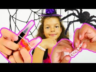 Türkçe izle - kız çocuk oyuncakları/oyunları/videoları. Cadı Katy parti için bilezik yapıyor