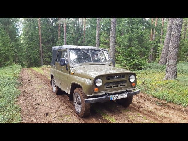 УАЗ-469 «Бобик» Покатушки под Нагора