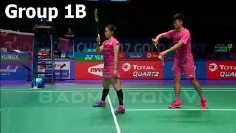 Sudirman Cup 2017 | LEE Chia Hsin WANG Chi Lin vs Ekaterina BOLOTOVA Vladimir IVANOV