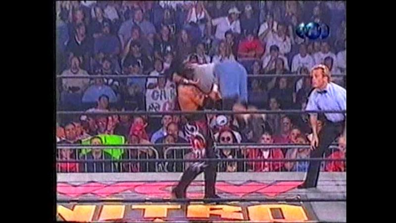 Рестлинг. WCW Nitro. Билли Кидман vs. Ювентуд Гуэррера (1998_10_26)