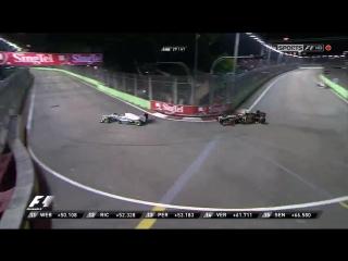 F1 2012. Гран-при Сингапура. Гонка