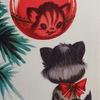 Новогодняя ёлочка с котенком по имени Гав