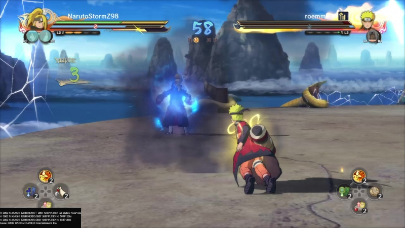 NARUTO SHIPPUDEN_ Ultimate Ninja STORM 4 ROAD TO BORUTO Онлайн битвы 8