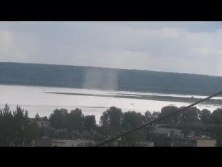 Водяной смерч в Галиче ( Костромская область, )