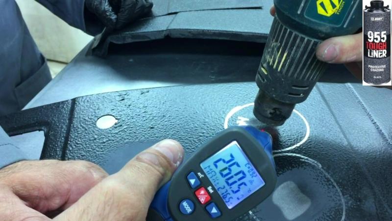 Тест HB Body 955 (Таф Лайнер) при температуре 300%