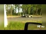 Авария на Московском в Ярославле