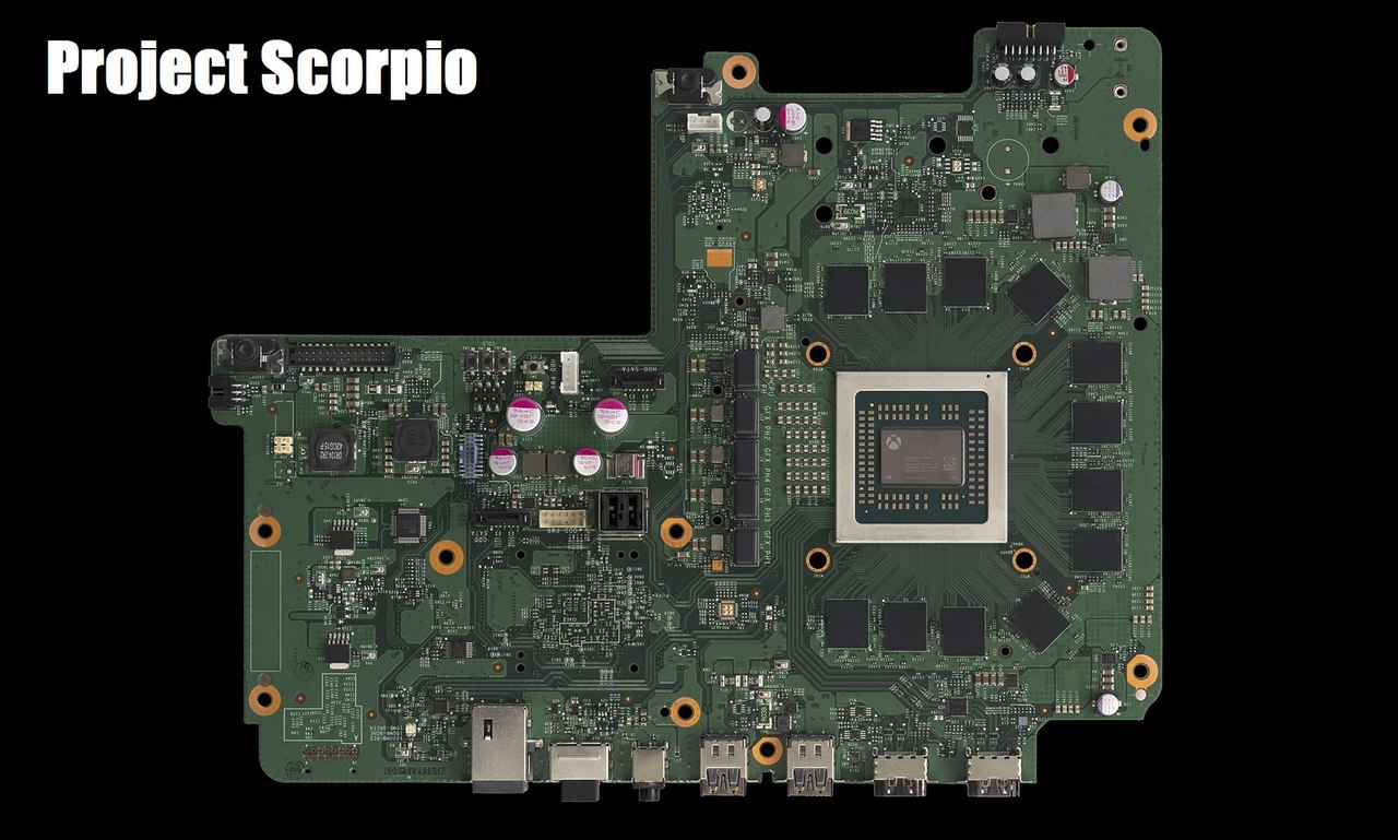 Начинка Project Scorpio (XBOX ONE X)