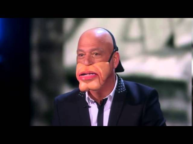 Paul Zerdin Ventriloquist Turns Howie Mandel into a Doll Americas Got Talent 2015