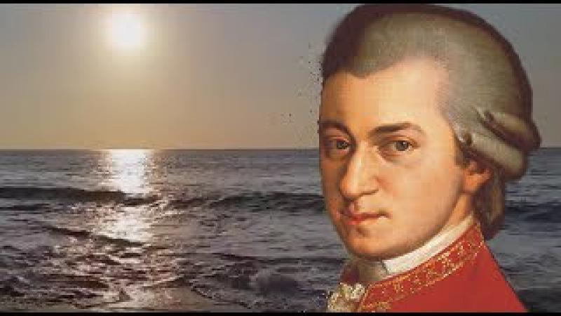 Лечебная музыка Моцарта под шум прибоя. Мощный Антистресс и Антидепрессант
